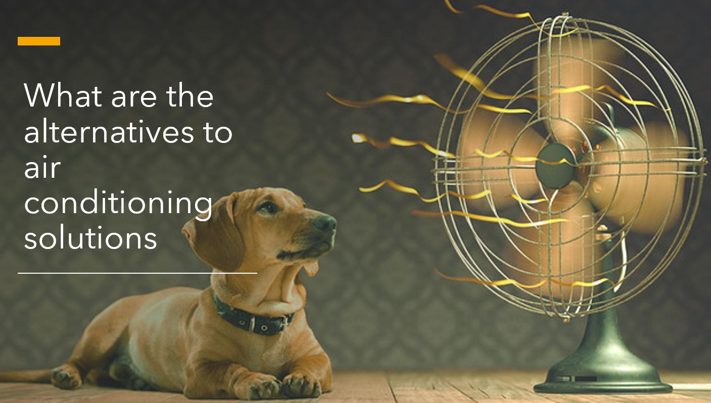 What are the alternatives to air conditioning solutions?