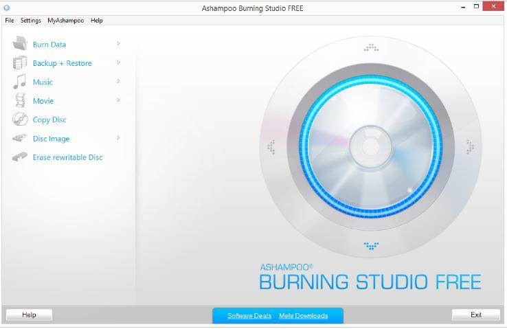 Free Ashampoo Burning Studio