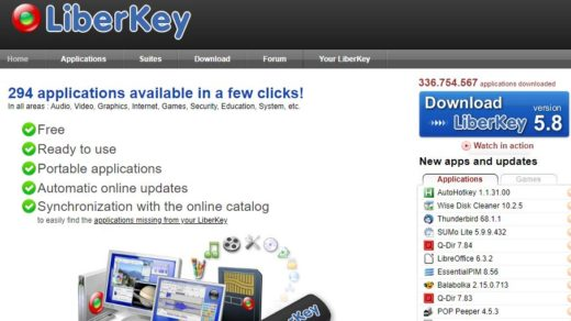 LiberKey-ninite-software-manager-alternative