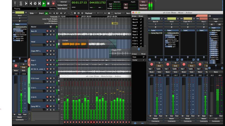 Ardour best audio editor