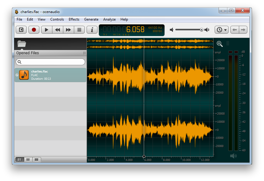 oceanaudio audacity alternative for windows, linux ormacos