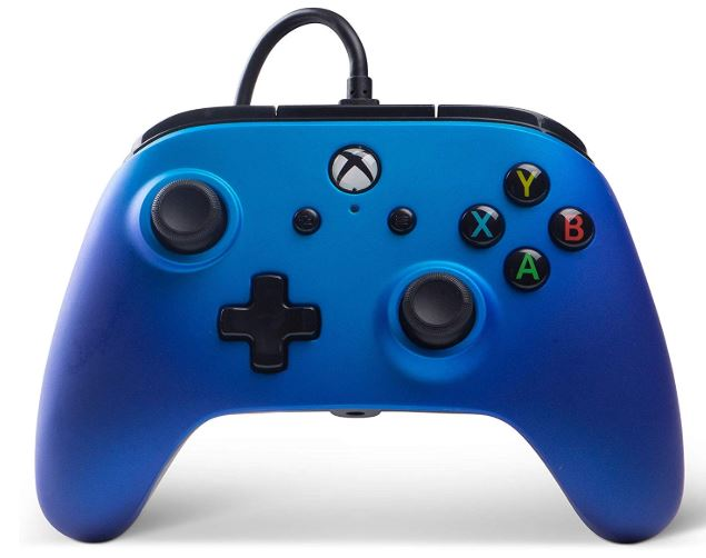 PowerA XB1 Enhanced Wired Controller-Sapphire Fade