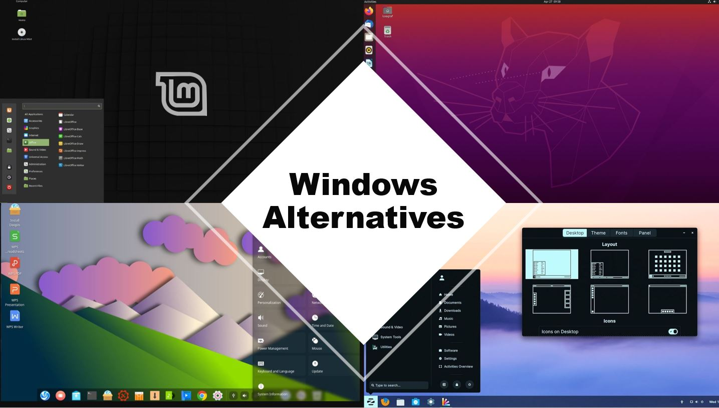 free Windows 10 operating system alternative