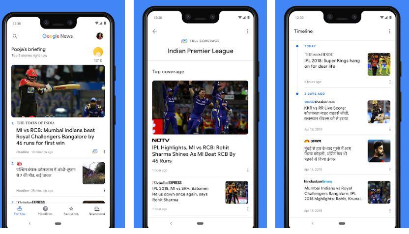 Google News - Similar to UC News