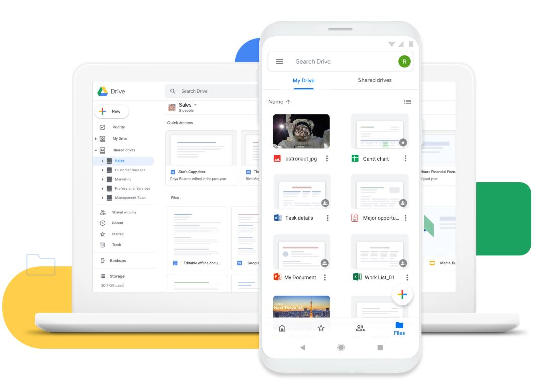 Google drive best Wetransfer alternative