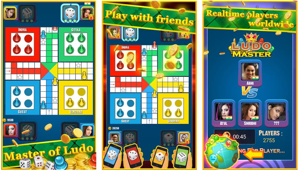 Ludo Master New Ludo Board Game 2020 min