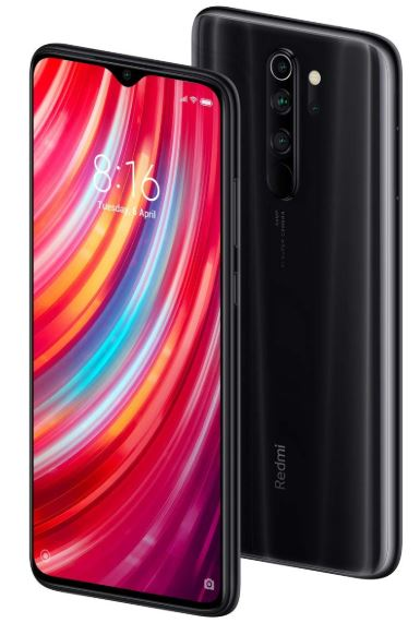 Redmi Note 8 Pro Shadow Black 6GB RAM 128GB min
