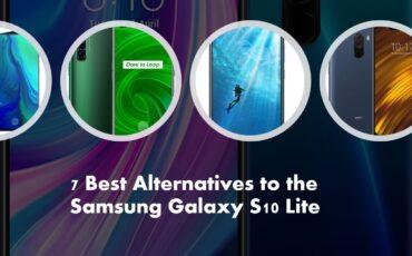 7 Best Alternatives to the Samsung Galaxy S10 Lite min