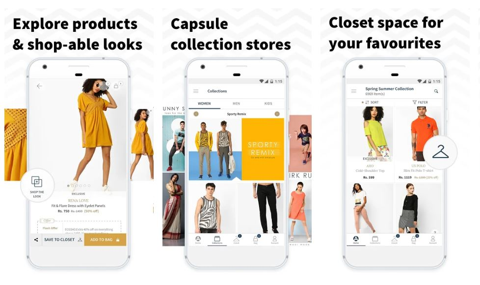 AJIO Online Shopping Handpicked Curated Fashion min