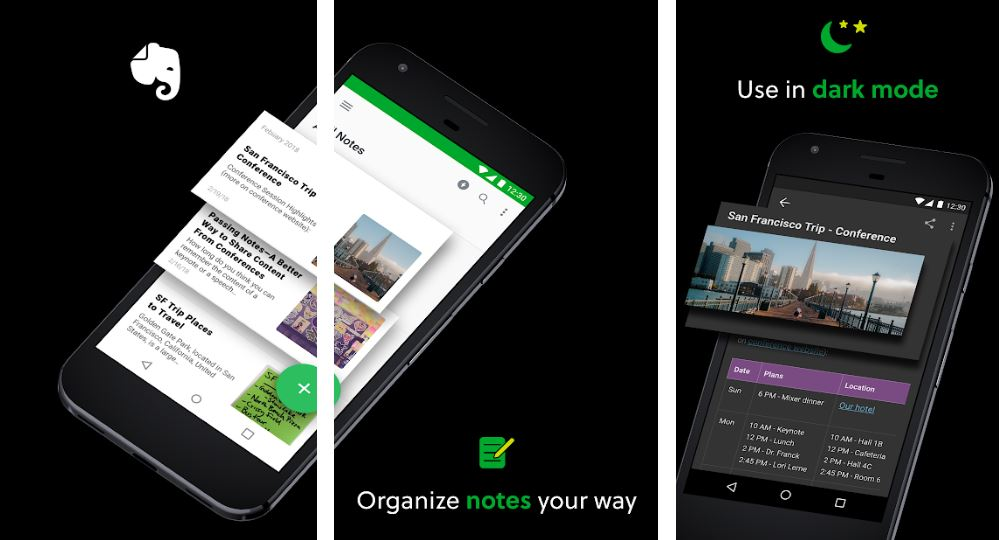 Evernote Notes Organizer Daily Planner