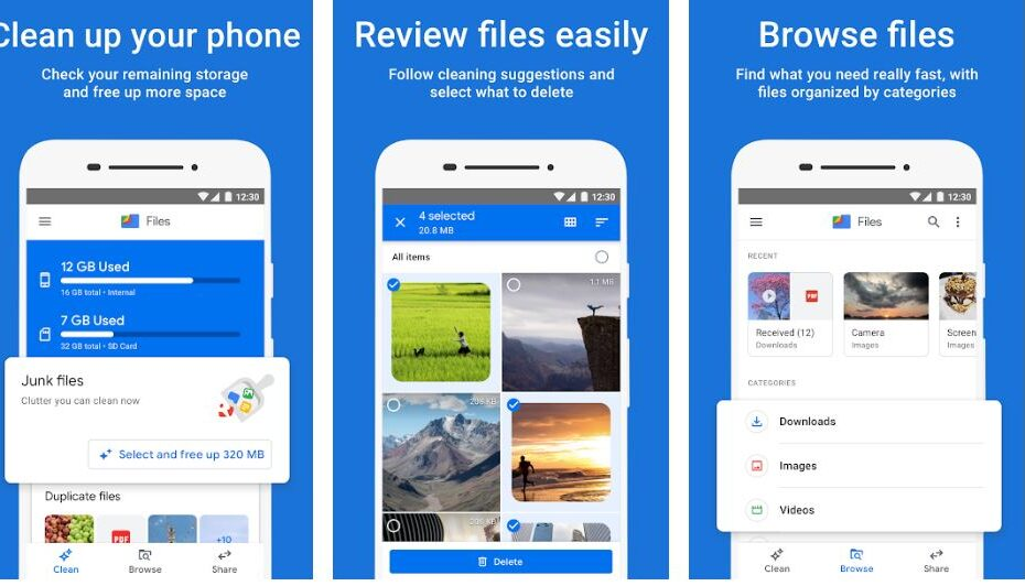 Files by Google shareit replacement