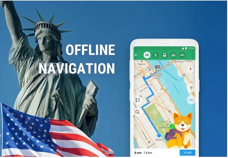 MAPS.ME – Offline maps min