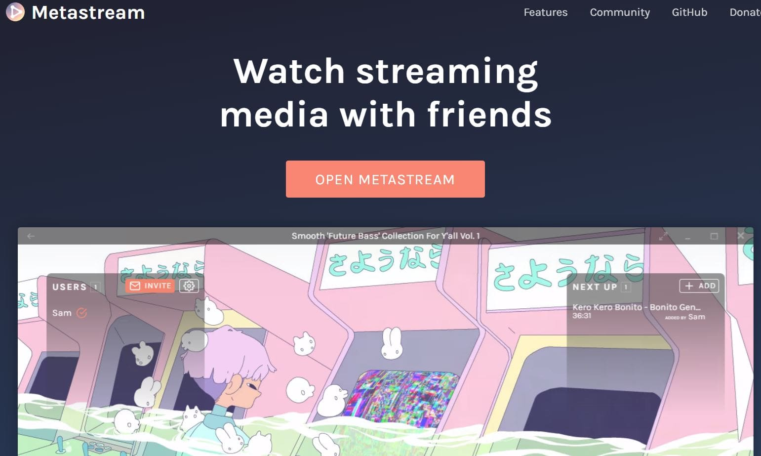 Metastreame to stream videso from yoru netflix and more min