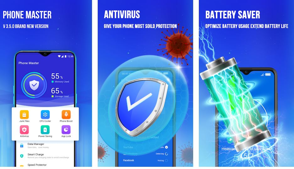Phone Master –Junk cleaner master Battery Cooler min 1