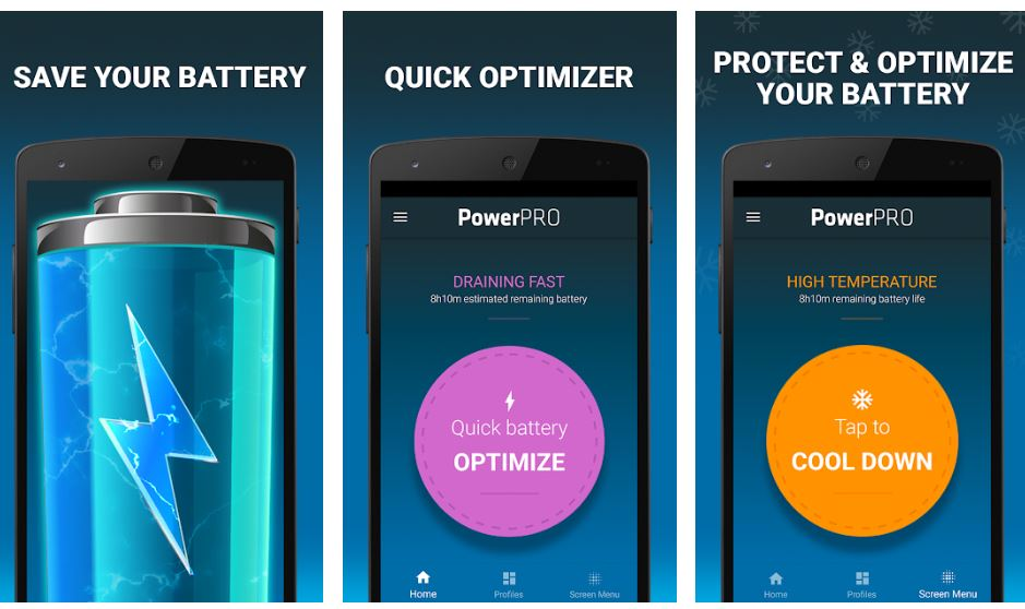 PowerPro Battery Saver manage your battery life min