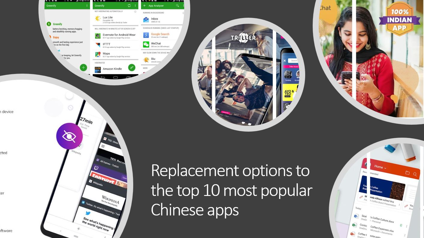 Best Replacement options to the top 10 most popular Chinese apps