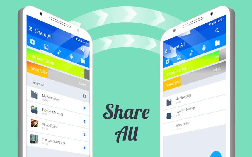 Share ALL File Transfer Share with EveryOne min
