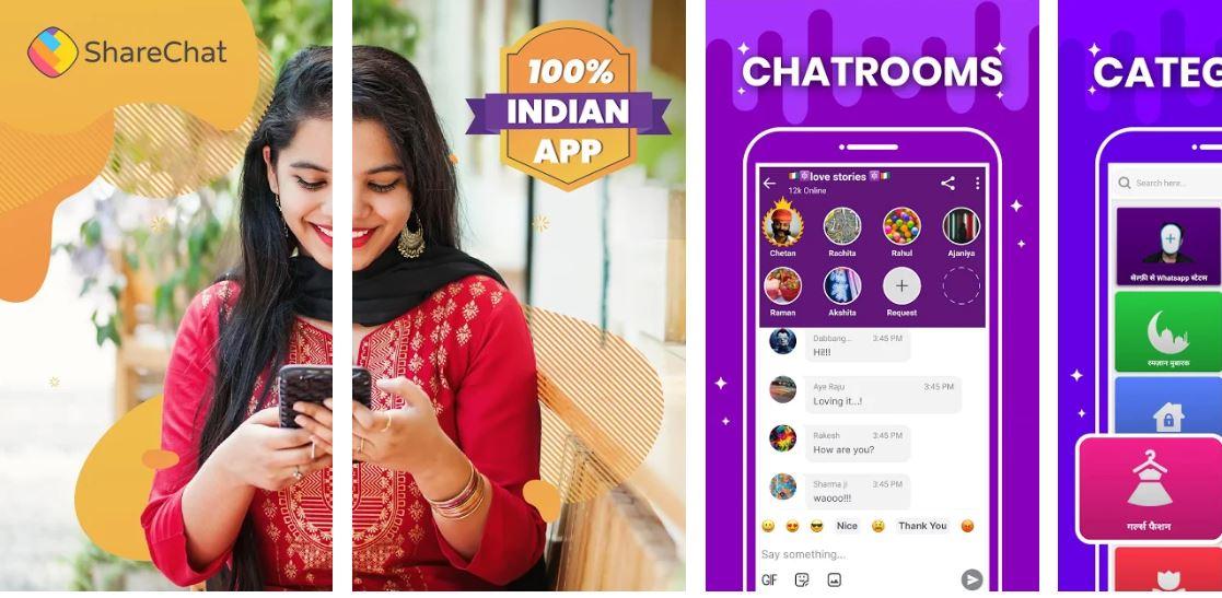 ShareChat Alternative to Helo