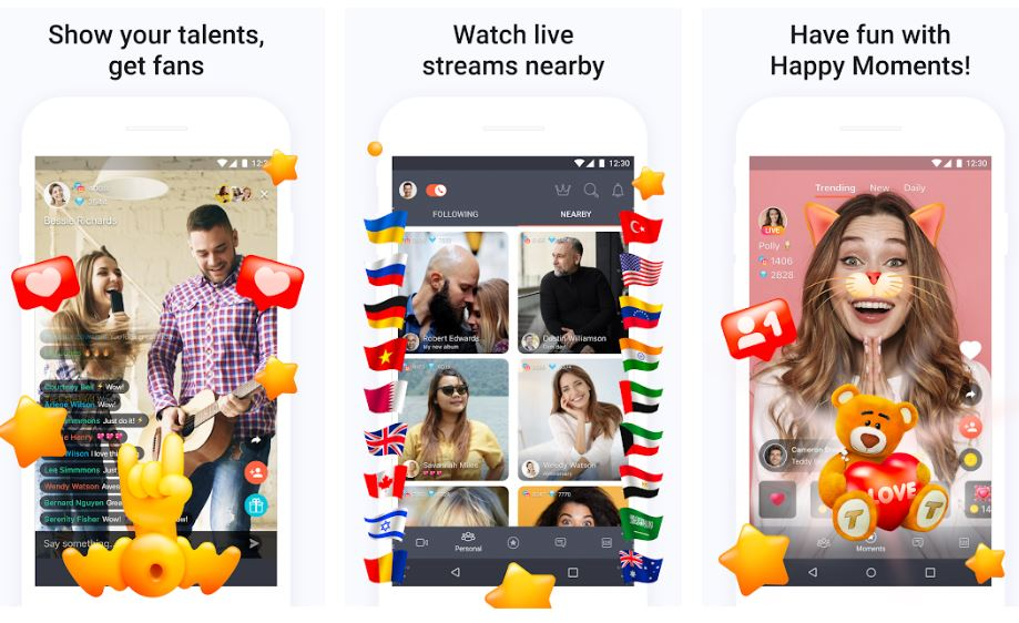 Tango Live Video Broadcasts and Streaming Chats min