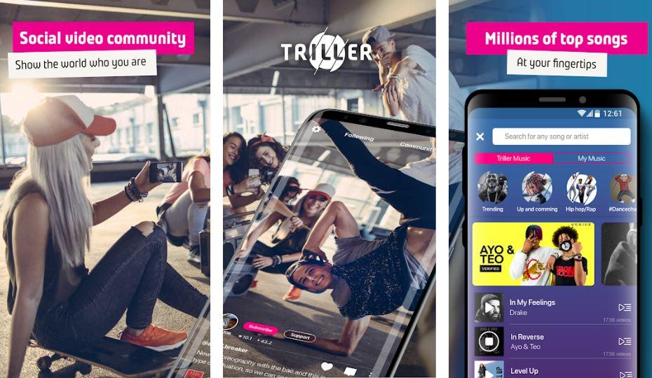 Triller Social Video Platform best Tiktok replacment