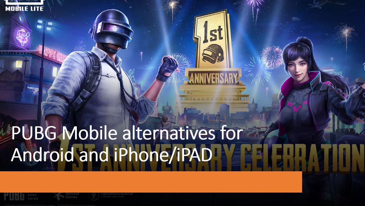 6 Best Games to Replace PUBG Mobile on Smartphones & Tablets