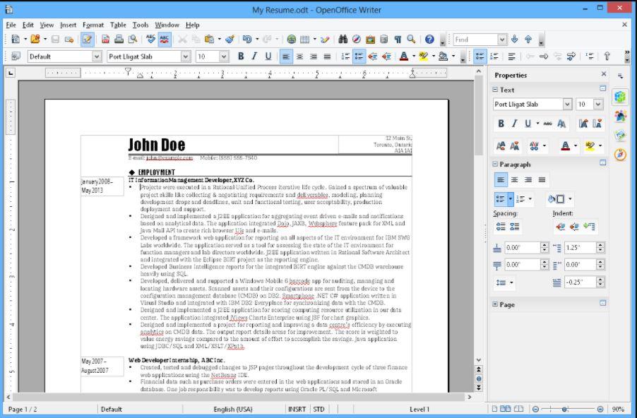 Openoffice best open source MS office alternative min