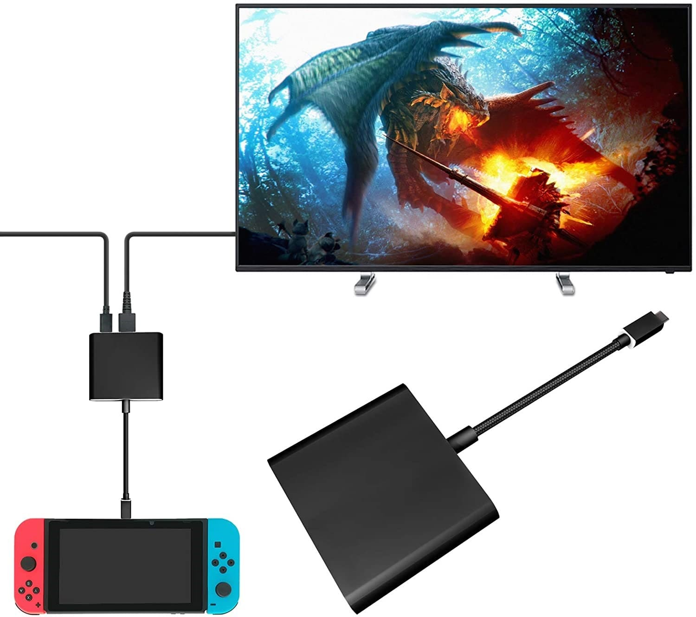 FastSnail HDMI Type C Hub Adapter min