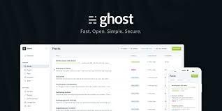 Ghost Bloggin Platform