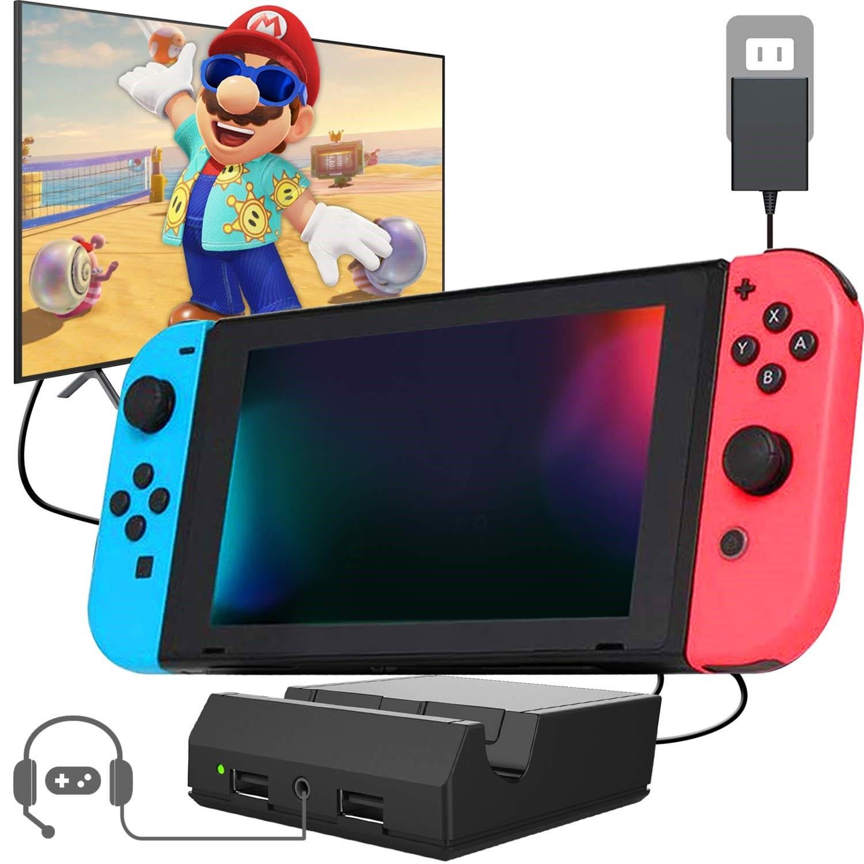 YEZRO Nintendo Switch Dock Portable min