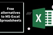 6 Free alternatives to MS-Excel Spreadsheets