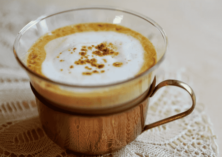 Golden Milk To replace coffee drink