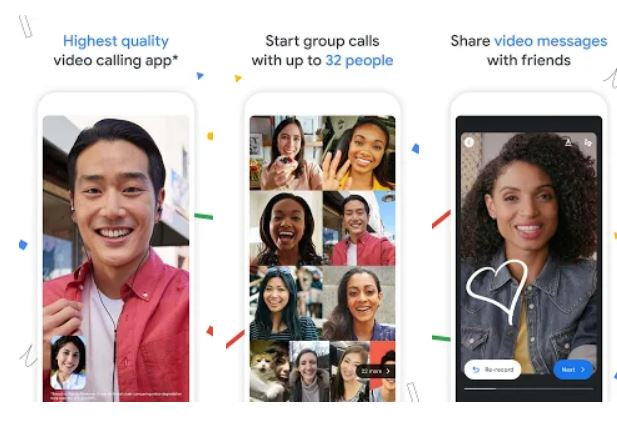 Google Duo Facetime alternative for Android
