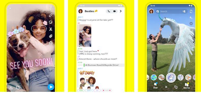 SNAPchat Facetime alternative