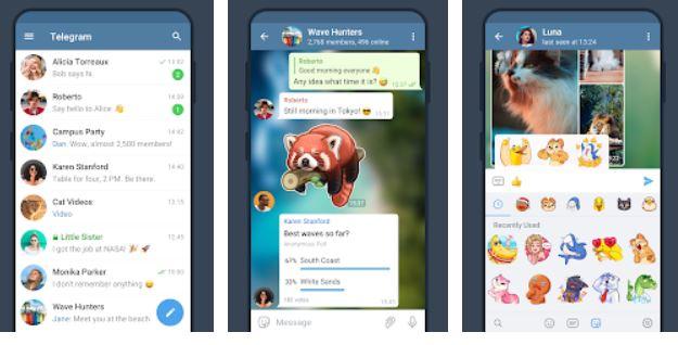 Telegram Facetime alternative for video calls