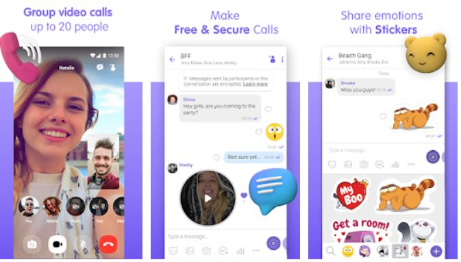 Viber Messenger Messages Group Chats Calls whatsapp replacement