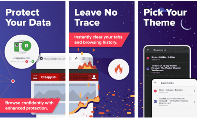 DuckDuckGo Privacy Browser chroem alternative