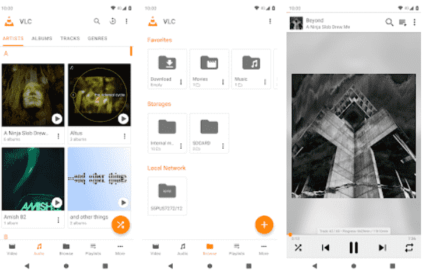 VLC player like MX Player for Android