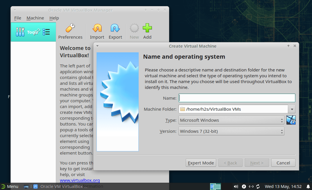 Run virtualBox on OpenSUSE-min