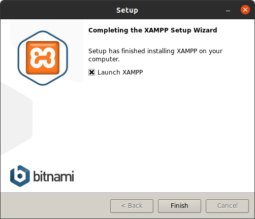 XAMPP installed on Ubuntu Linux