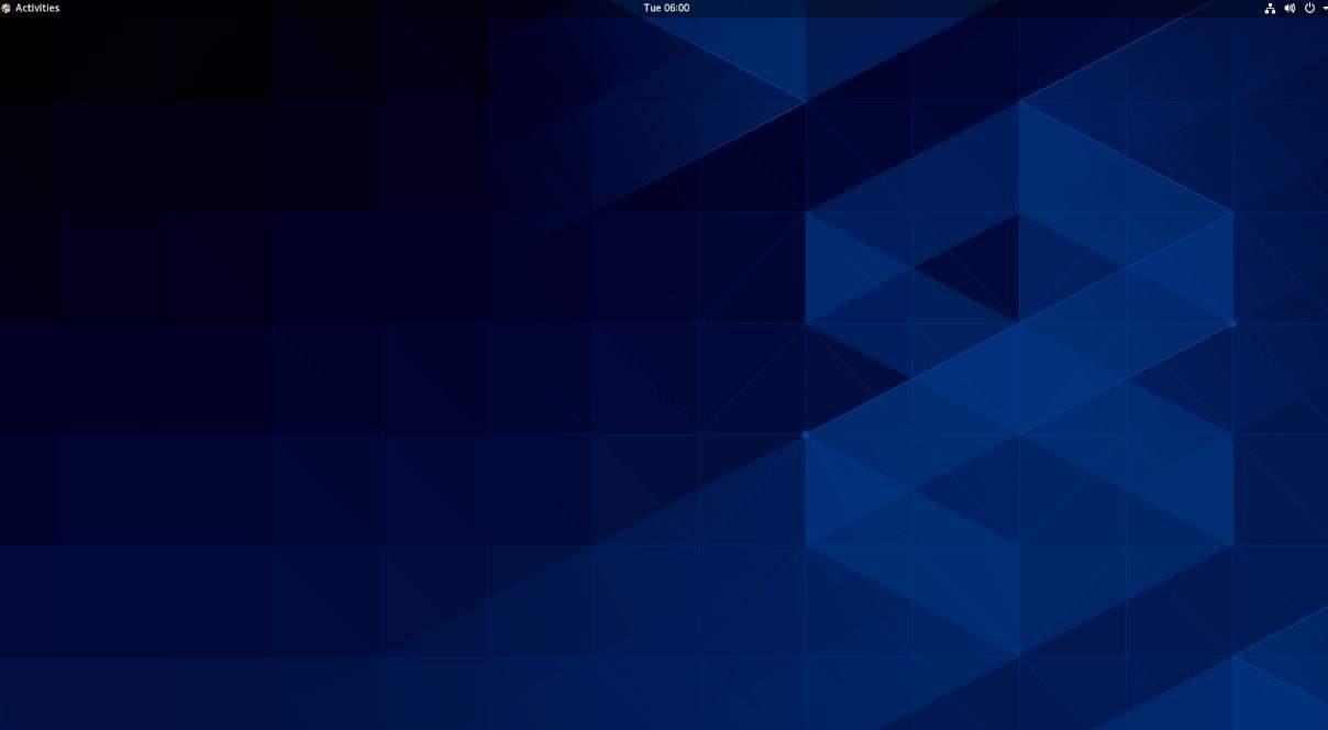 CentOS 8 GNOME-