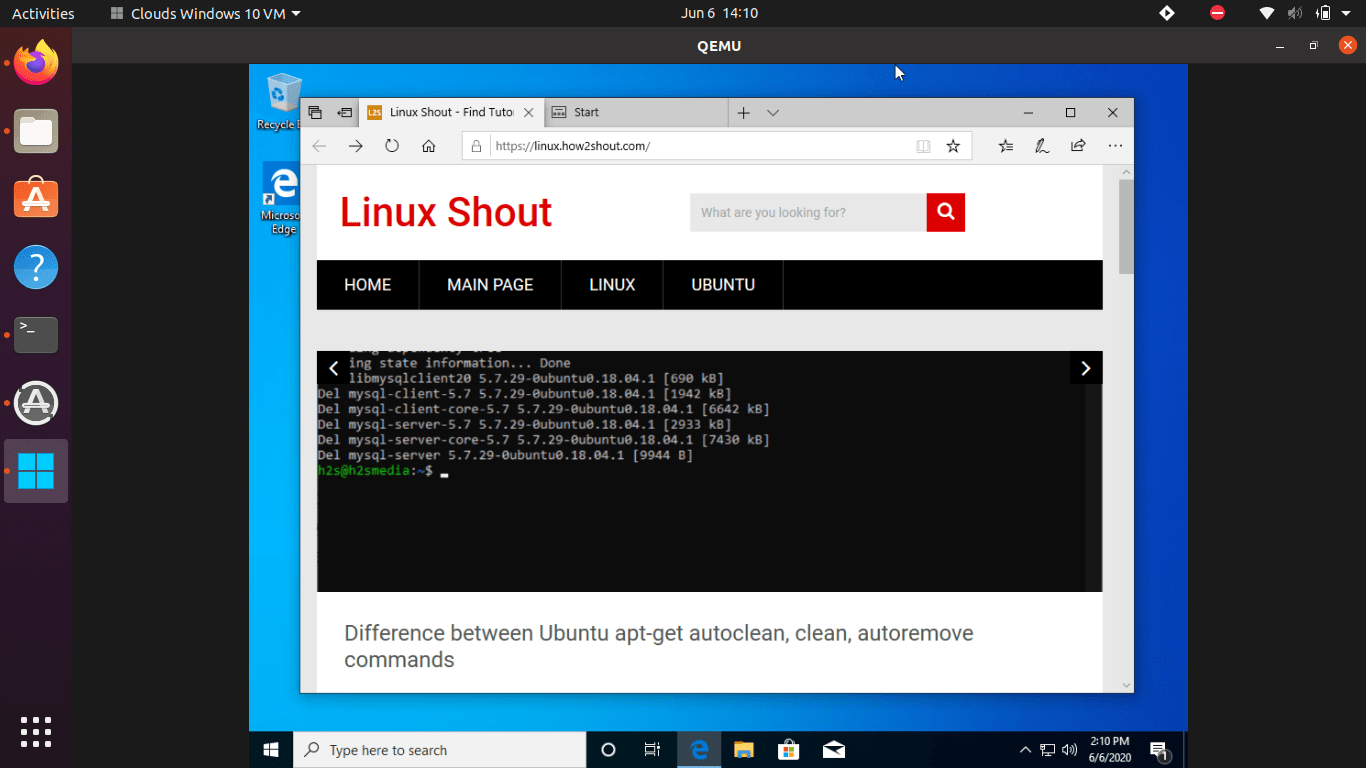 Easy way to run Windows 10 on Ubuntu-min