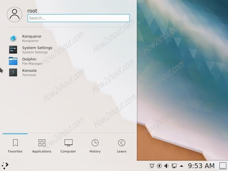 KDE plasma installation CentOS 8 Linux server