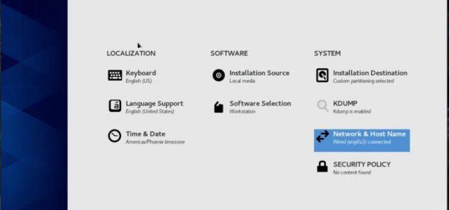 install GUI on CentOS 8 Minimal CLI server