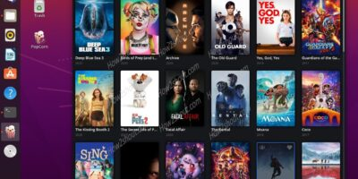 Popcorn Time streaming app installation on Ubuntu 20.04 LTS