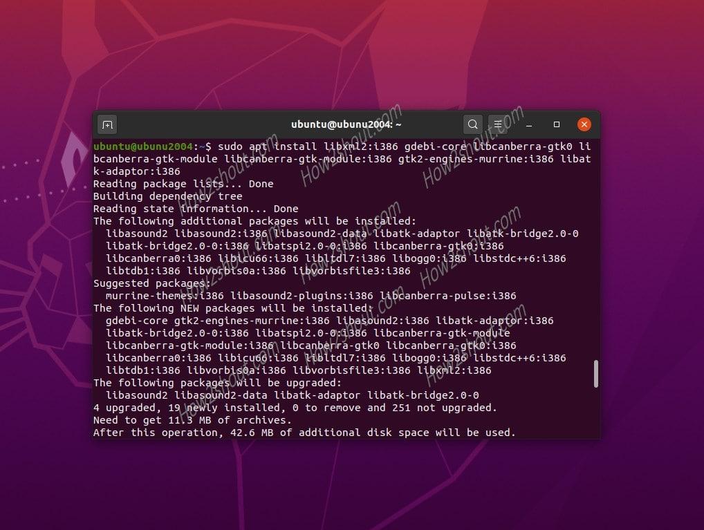 install Adobe reader on Linux min