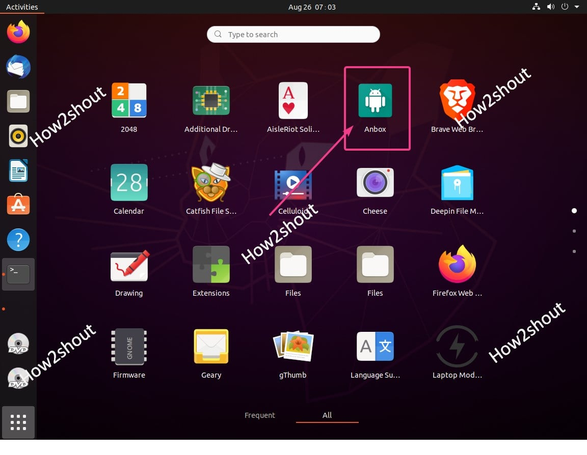 Anbox Android Apps Player installation on Ubuntu 20.04 LTS