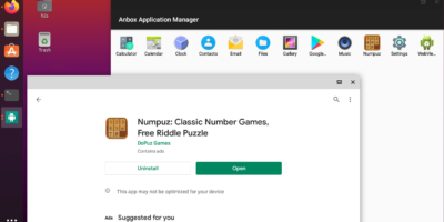 Anbox Google Play store Arm apps Ubuntu 20.04 LTS min