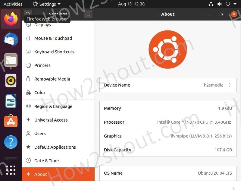 Ubuntu Device name change
