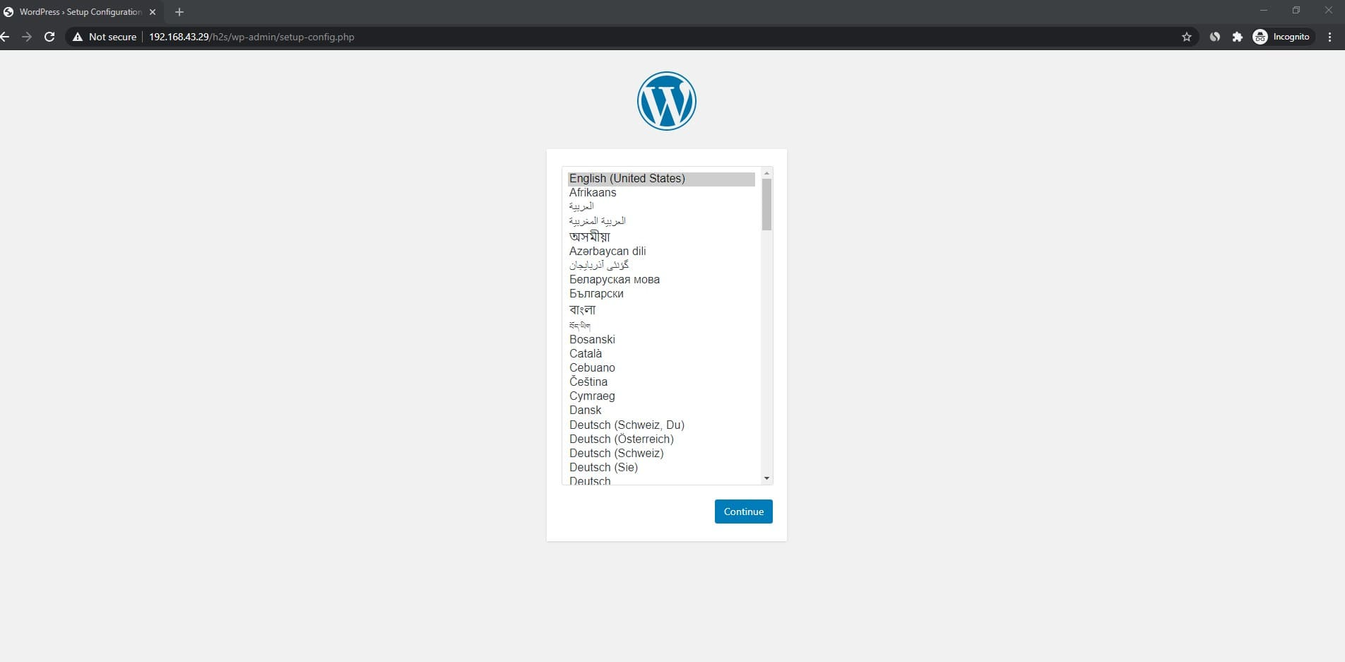Add database details to Wordrpess
