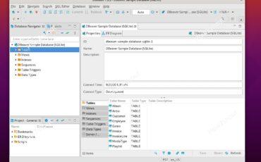 Install and run dbeaver on Ubuntu Linux min